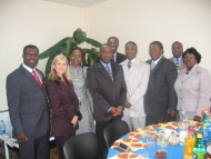 In the Ukraine with Leaders from Europe, Africa, & the USA