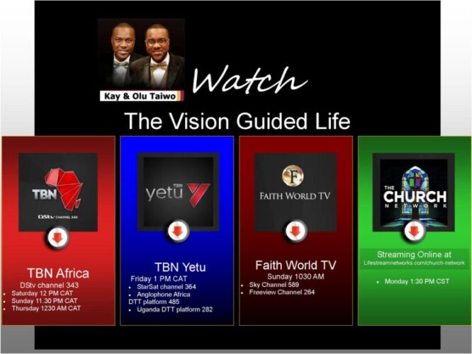 Watch the Vision Guided Life